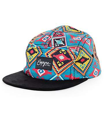 Empyre Gem Dark Green 5 Panel Hat