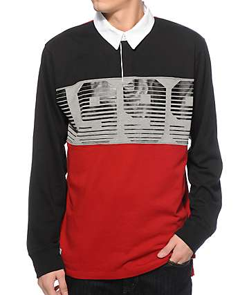 Empyre Get On Up Long Sleeve Polo Shirt