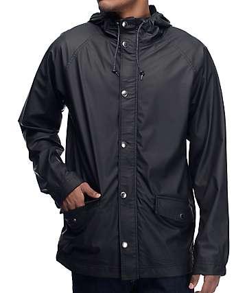 Empyre Glow Black Rain Jacket