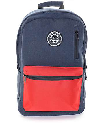 Empyre Good Navy & Red Backpack