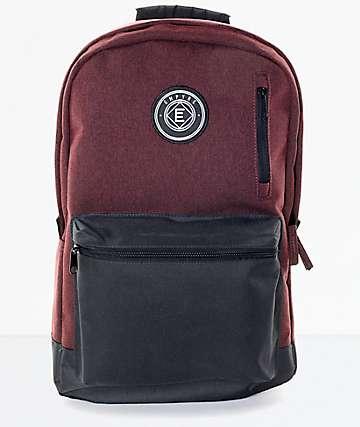 Empyre Good mochila en borgoño y negro