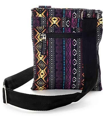 Empyre Goslin Aztec Black Bag