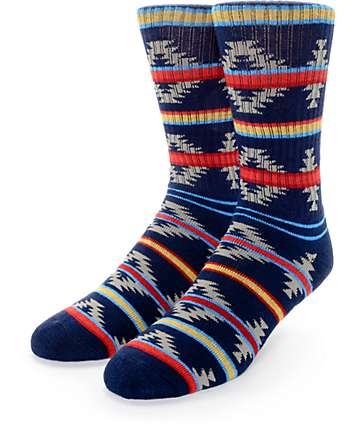 Empyre Got It All Dark Blue Crew Sock