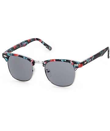 Empyre Haku Floral Retro Sunglasses