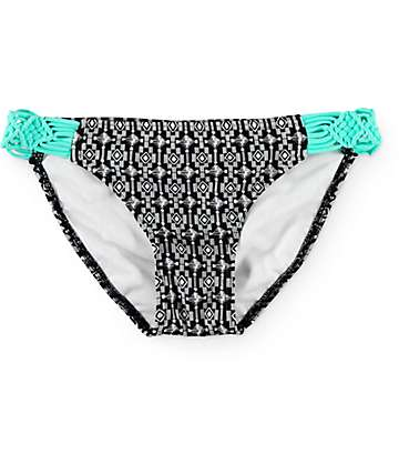 Empyre Hatch Happy Macrame Tab Side Bikini Bottom