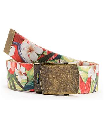 Empyre Hawaisted Red Web Belt
