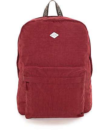 Empyre Heather mochila lavado rojo nuevo