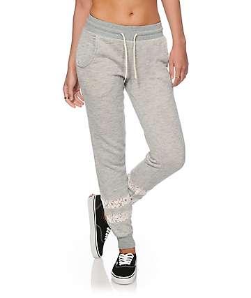 Empyre Hetty Crochet Inset Jogger Pants