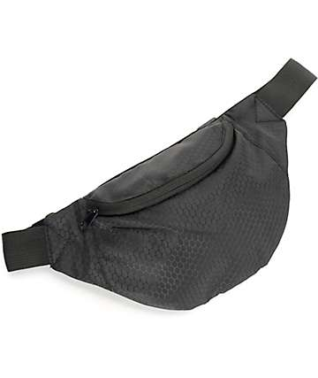 Empyre Honeycomb Ripstop Black Fanny Pack