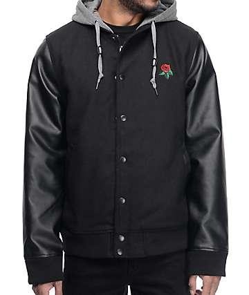 Empyre Hospitality Black Bomber Jacket