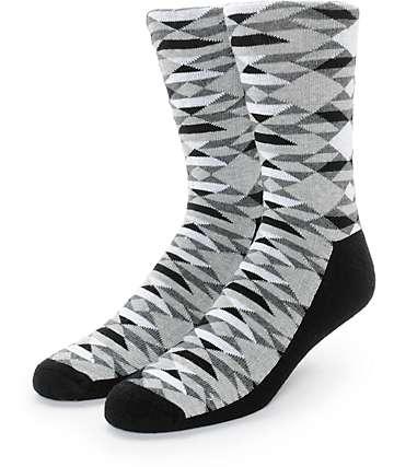 Empyre Impressed Geo Crew Socks