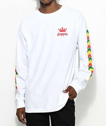 Empyre Jam Rock camiseta blanca de manga larga