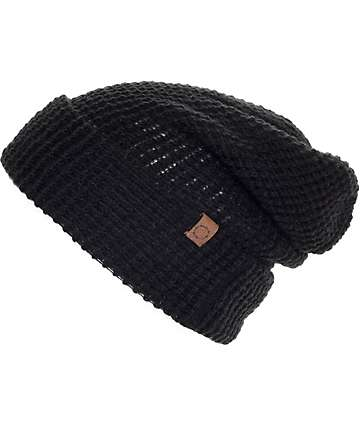 Empyre Jamison Black Slouch Beanie