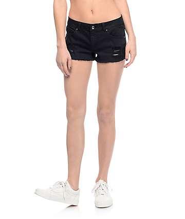 Empyre Jenna shorts rotos en negro