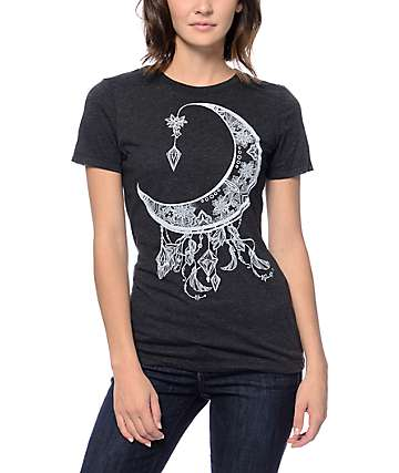 Empyre Jewel Moon Black T-Shirt