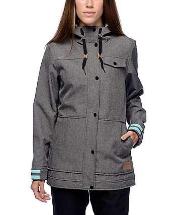 Empyre Karli 10K chaqueta softshell en negro