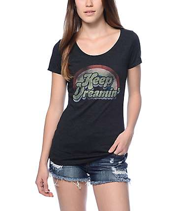 Empyre Keep Dreamin Black T-Shirt