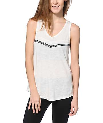 Empyre Kennedy Mesh Trim Tank Top