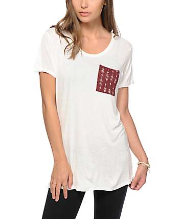 Empyre Kessler Fig Arrow Pocket T-Shirt