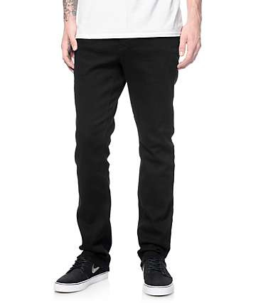 Empyre Kinetic S Gene Black Skinny Fit Jeans