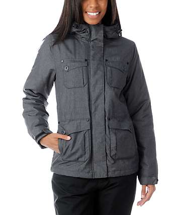Empyre Lakota Charcoal Snow Jacket