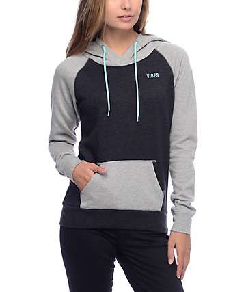 Empyre Larissa Keep It Black & Grey Hoodie