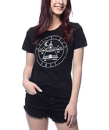Empyre Lets Get Lost Black T-Shirt