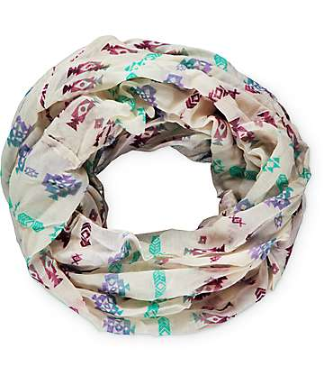 Empyre Lexie Multi Tribal Infinity Scarf