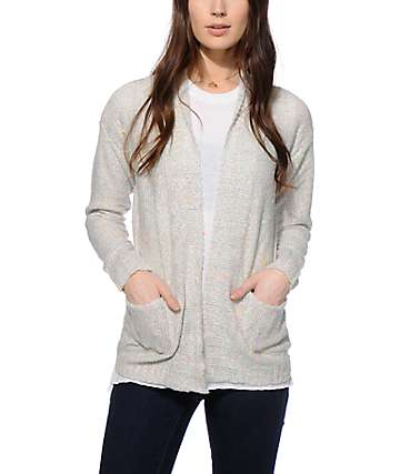 Empyre Lisa Grey Speckle Cardigan