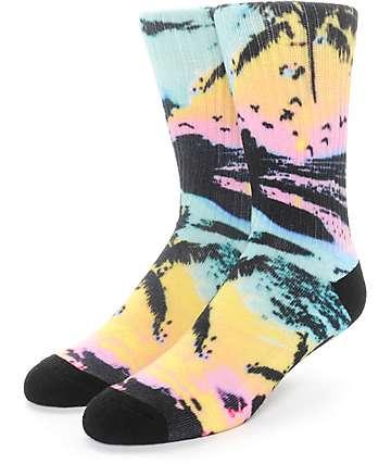Empyre Livin Tropical Crew Socks
