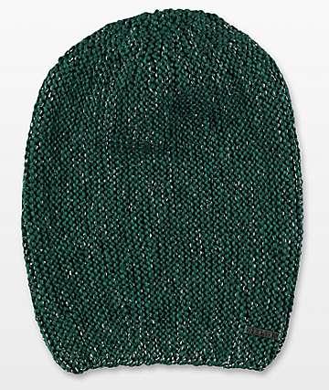 Empyre Liz Sparkle Green Beanie