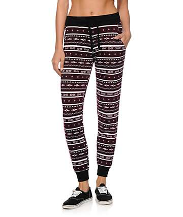 Empyre Lorimer Blackberry Tribal Jogger Pants