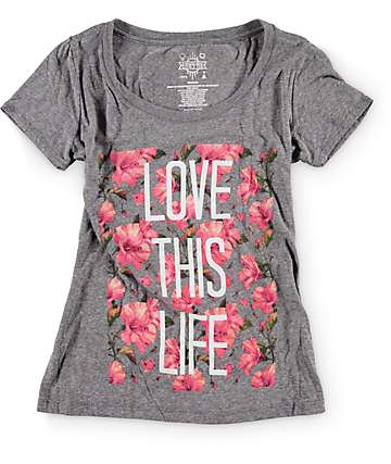 Empyre Love This Life Floral T-Shirt
