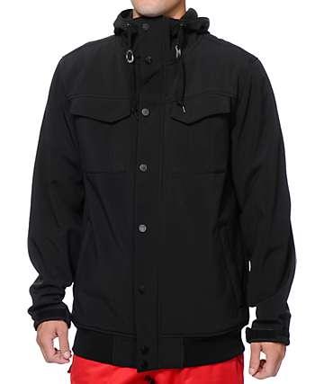 Empyre Luger M-65 Black 10K Softshell Snowboard Jacket