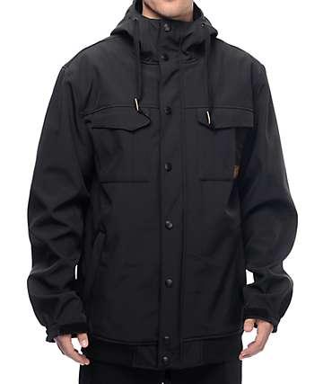 Empyre Luger M65 Softshell 10K chaqueta de snowboard en negro
