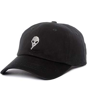 Empyre Lurex Alien Black Strapback Hat