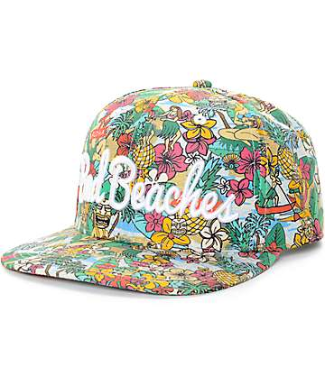 Empyre Luv Bad Beaches Snapback Hat