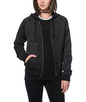 Empyre Maja Black Quilted Jacket