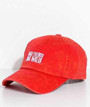 Empyre Make Friends gorra béisbol en rojo