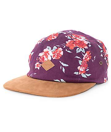 Empyre Mallory New Red 5 Panel Hat