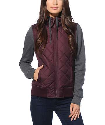 Empyre Mariel Blackberry Quilted Jacket