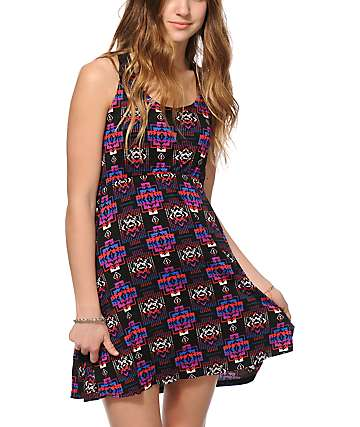 Empyre Maritza Black Tribal Dress