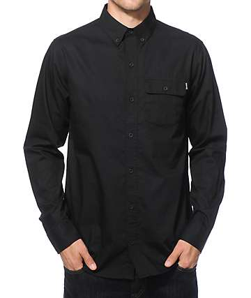 Empyre Matty Poplin Long Sleeve Button Up Shirt