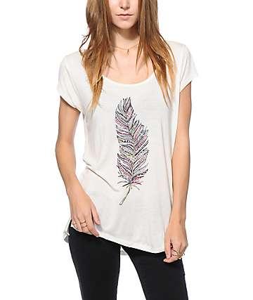 Empyre McCoy camiseta de patrón to plumas