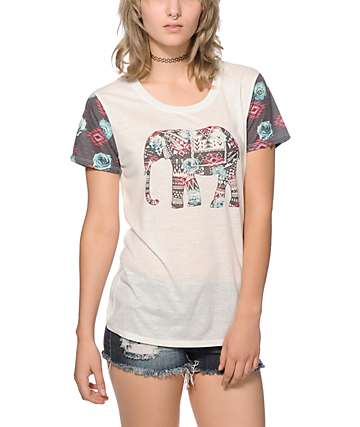 Empyre Menace Tribal Elephant T-Shirt