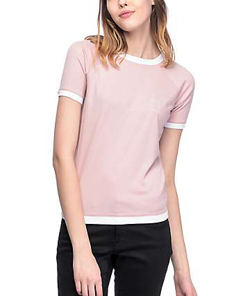Empyre Mindy Whatever camiseta en color malva