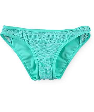 Empyre Mint Crochet Bikini Bottom