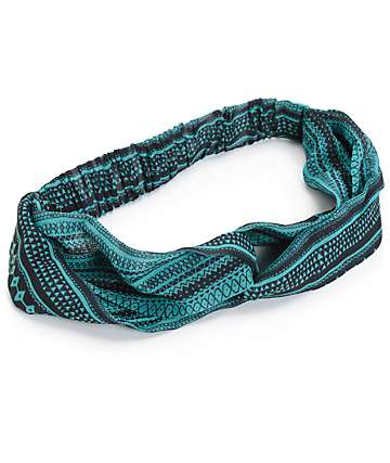 Empyre Mint Tribal Chiffon Headband