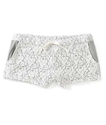 Empyre Misha White Crochet Shorts