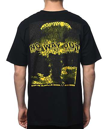 Empyre No Way Out Black T-Shirt